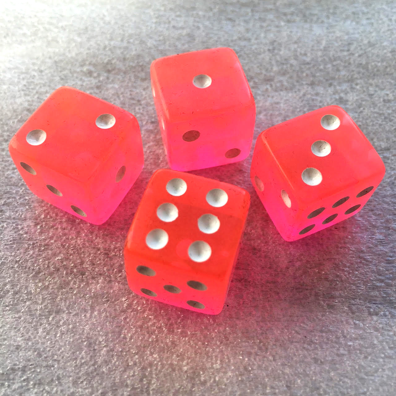 Pink dice (x4 in the 2nd add-on).
