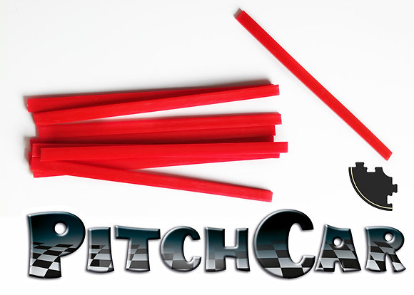 PitchCar - Longs Rails x10 (courbes/for curves)