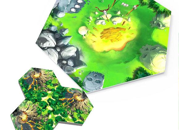 Taluva Deluxe -Volcans
