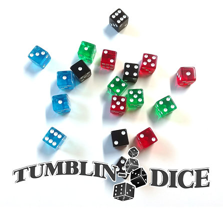 Tumblin-Dice - Dés de Base/Dice main game x18