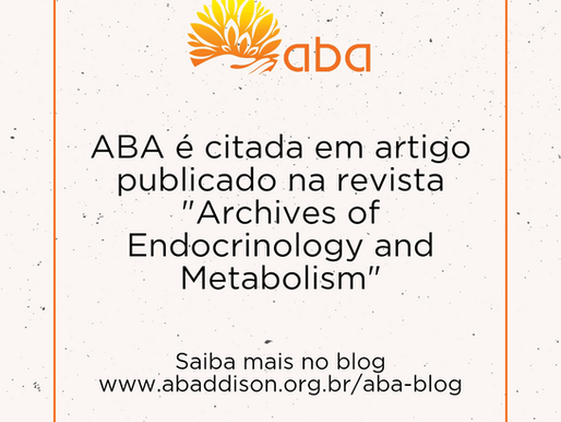 """ABA é citada em artigo publicado na revista """"Archives of Endocrinology and Metabolism"""""""