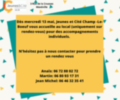 """Equipe de prévention spécialisée  """"Jeunes & Cité"""" - permanence sur RDV"""