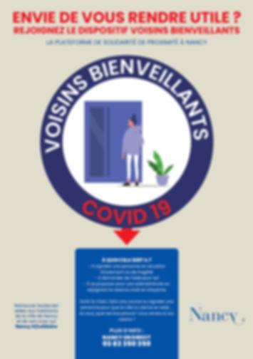 Le flyer de présentation de l'initiative Voisins Bienveillants