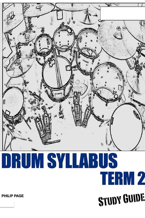 Drum Syllabus Series Term 2 Study Guide