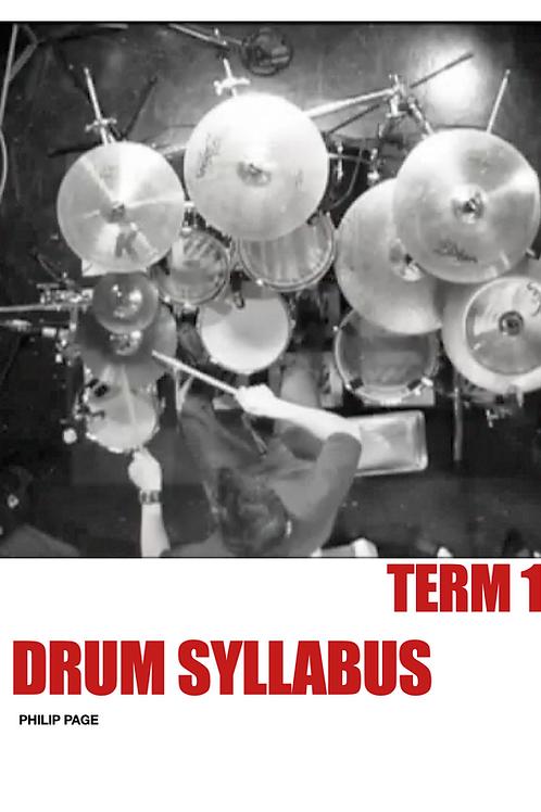 Drum Syllabus Term 1