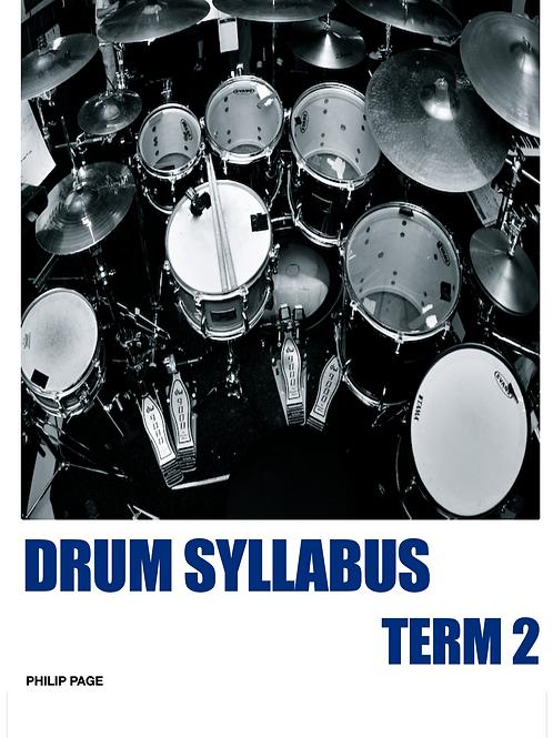 Drum Syllabus Series Term 2