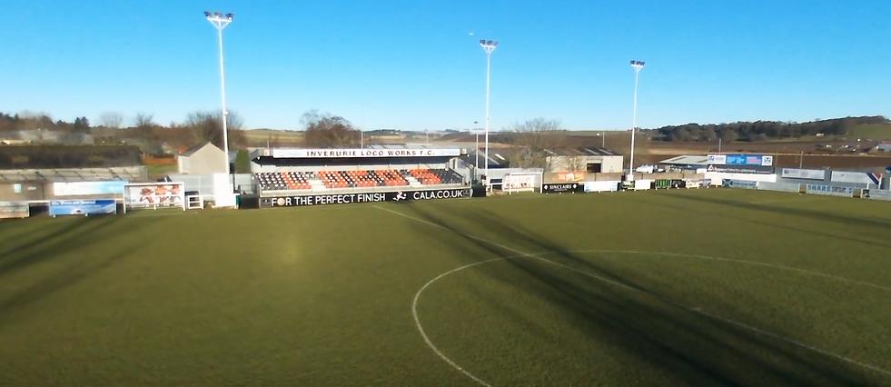 Harlaw Park Inverurie Locos Stadium Harlaw Road, Inveruie