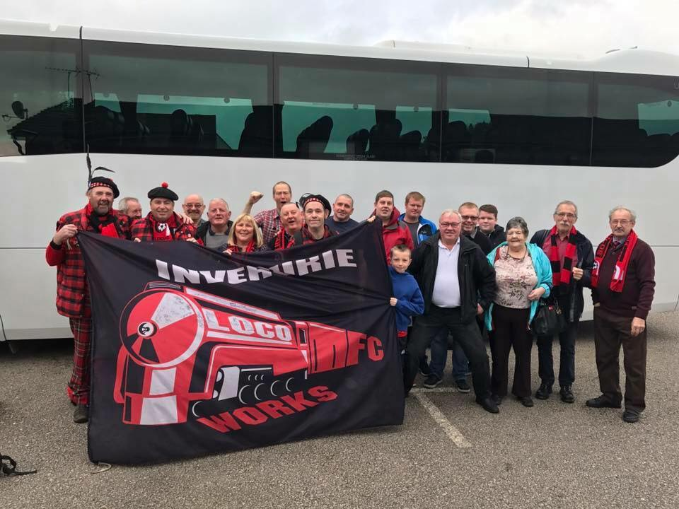 Inverurie Loco Works FC Supporters