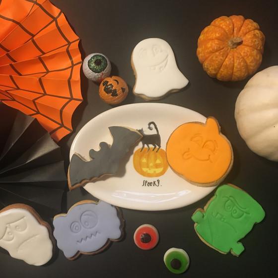 Spooky Biscuits