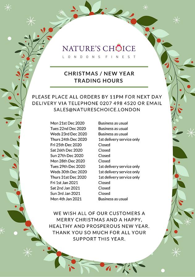 Nature's Choice Christmas _ New Year 202