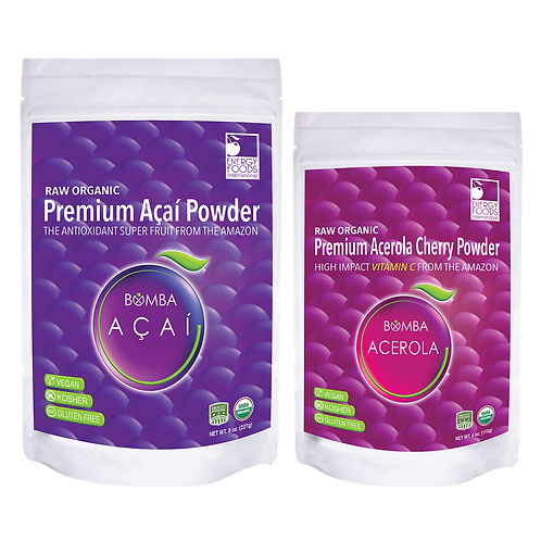 8 oz Acai & 4 oz Acerola Premium Powder