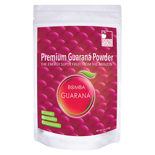 4 oz Guarana Premium Powder