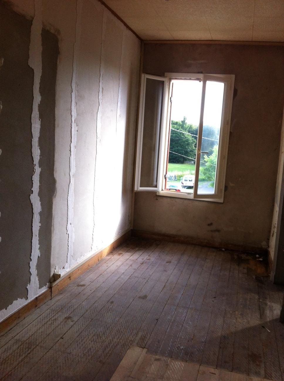 Chambre étage avant travaux