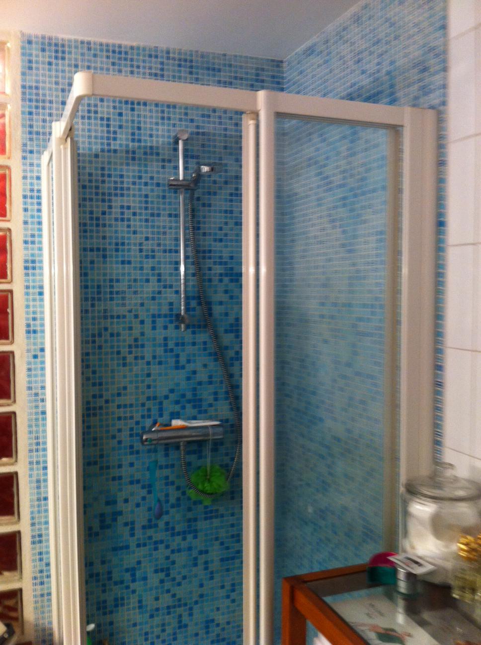 Une salle de bain modernisée