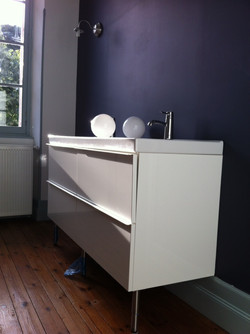 Salle de bain étage après travaux