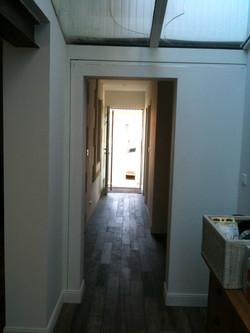 Nouveau couloir après travaux