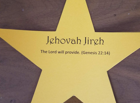 Jehovah Jireh (The Lord Will Provide)