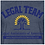 Thumbnail: Legal Team Men's Fitted Cotton/Poly T-Shirt