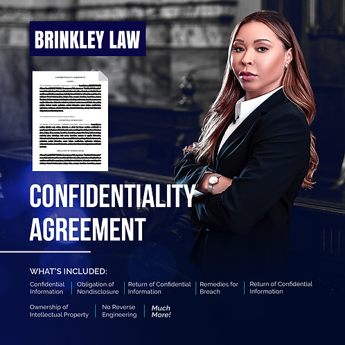 BUSINESS PROTECTION: CONFIDENTIALITY AGREEMENT