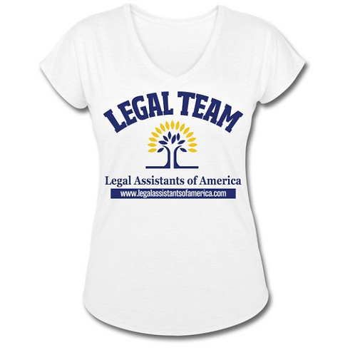 Legal Team Tri-Blend V-Neck T-Shirt
