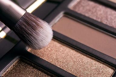 Oogschaduw palet voor touch-up make-up