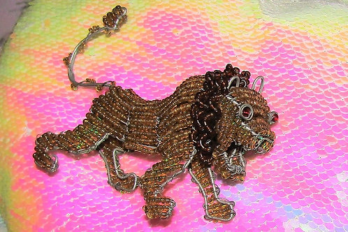 African Beaded Lion