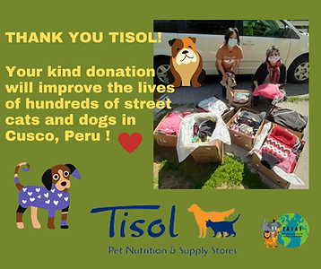 SMALLTHANK YOU TISOL for your kind donat
