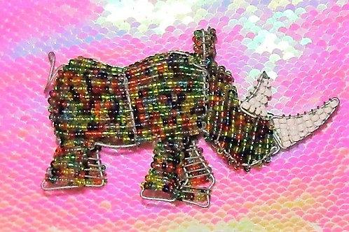 African Beaded Rhino