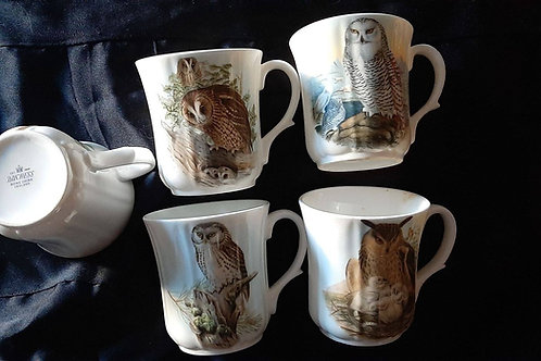 Owls mugs set