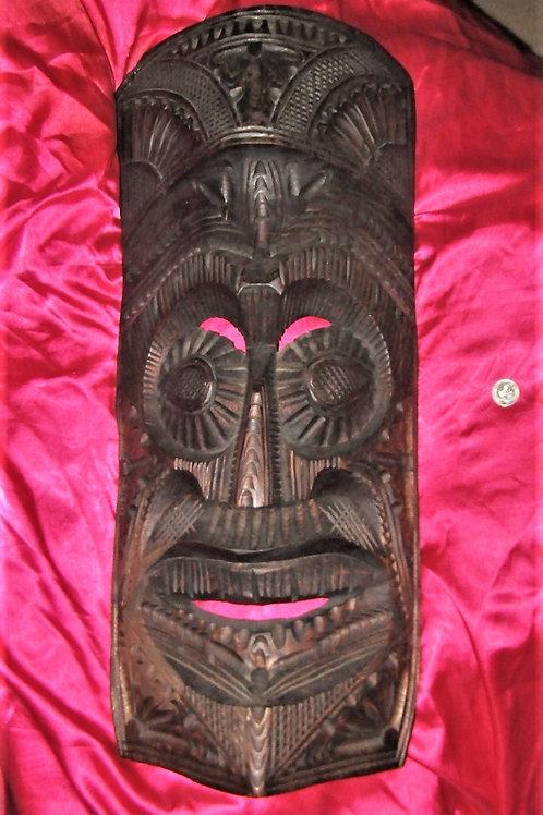 Polynesian Wood large mask.