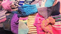 Donation of lovely dog/cat sweaters for Cusco street animals