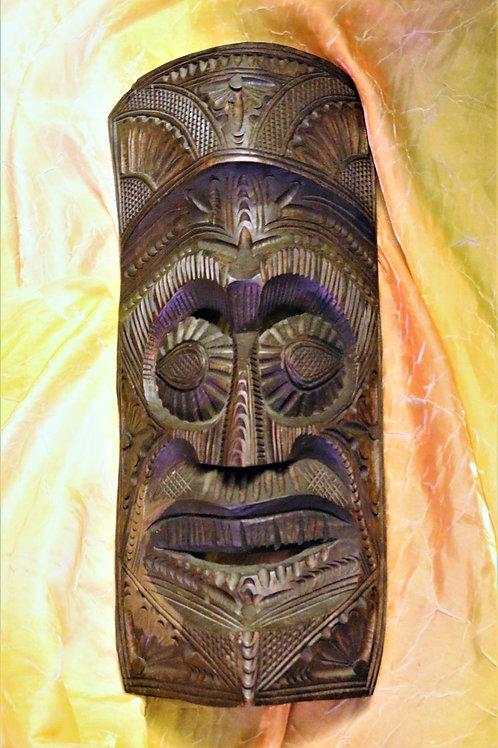 Polynesian Wood large mask