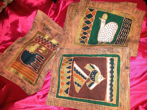 Set placemats with animals