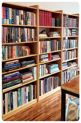Estante de Livros Categorizada