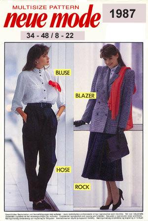 Neue Mode 1987neu
