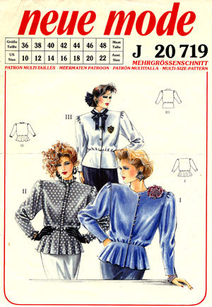 Neue Mode 20719neu