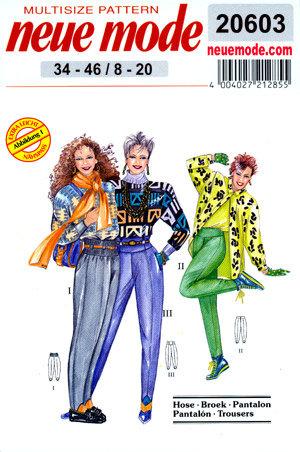 Neue Mode 20603neu