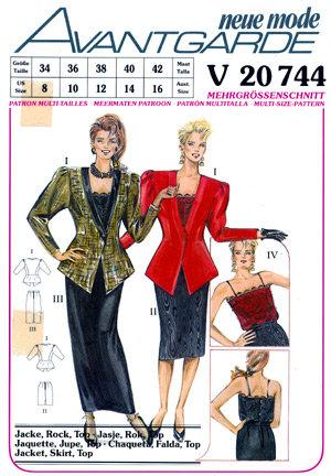Neue Mode 20744neu