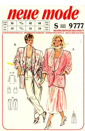 Neue Mode 9777neu