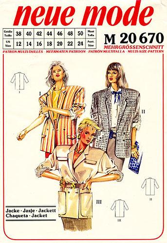 Neue Mode 20670neu