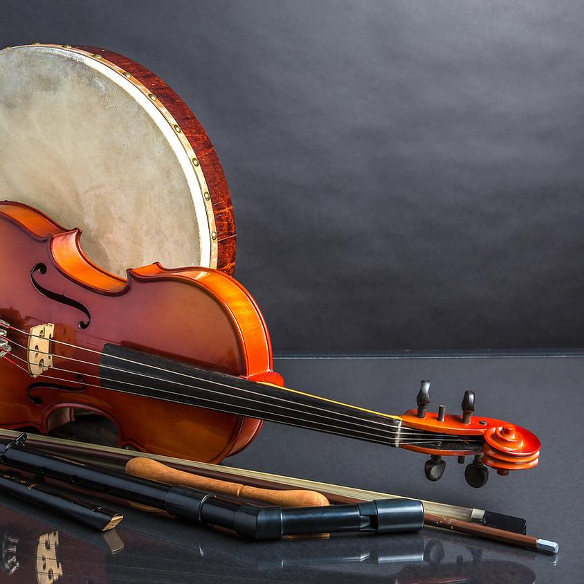 Traditionelle irische Volksmusik