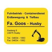 Fuhrbetrieb & Containerdienst GOOS - Husby