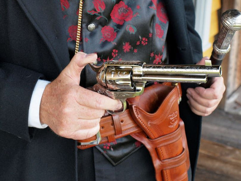 Bat Masterson's Colt Single Action:Pietta recreates one of the most famous Guns of the Old West -1/3