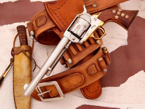 U.S. Cavalry Indian Scouts Armed with the latest Colt Single Action Revolvers