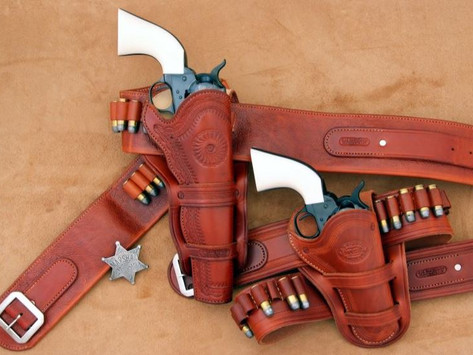 Gun Test Two Gun Lawman F.lli Pietta's new Single Action Pair Deliver Double Justice