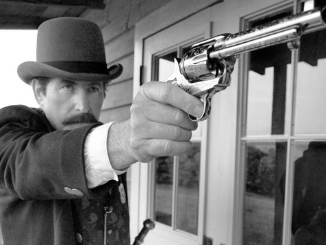 Bat Masterson's Colt Single Action:Pietta recreates one of the most famous Guns of the Old West -3/3