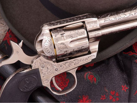Bat Masterson's Colt Single Action:Pietta recreates one of the most famous Guns of the Old West -2/3