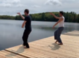 Tai Chi on the Dock!