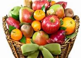 Medium Fruit Basket Candle