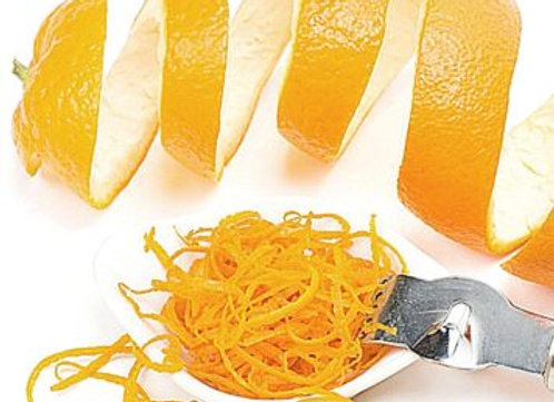Large Orange Zest Candle